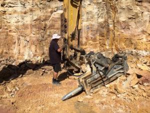 Rock breaking - Blueprint Built
