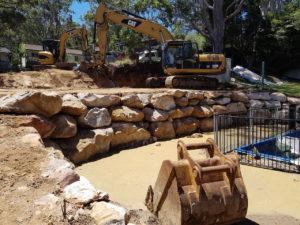 Blueprint Built - Sydney - retaining Walls