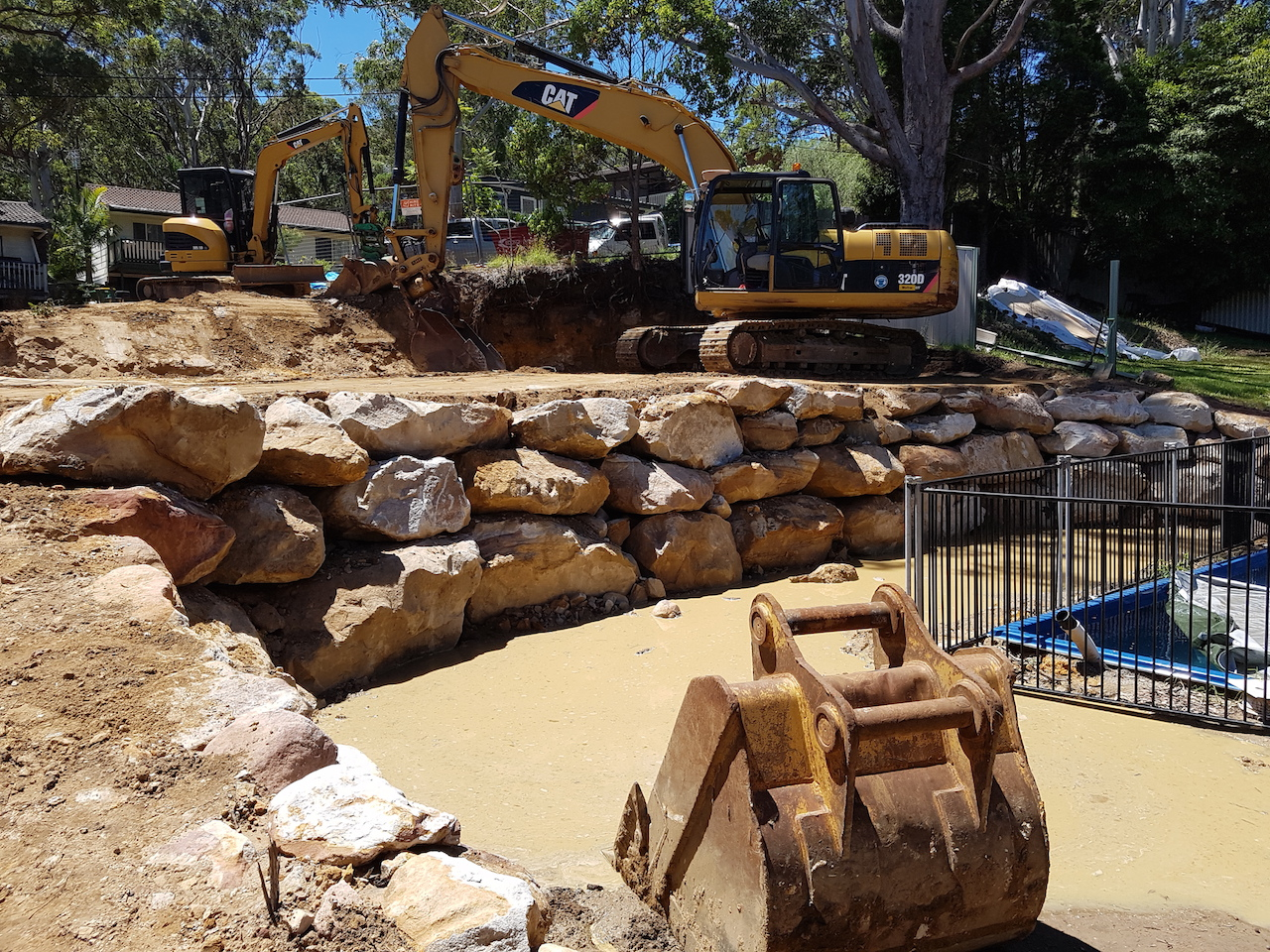 Blueprint Built - Sydney - retaining Walls