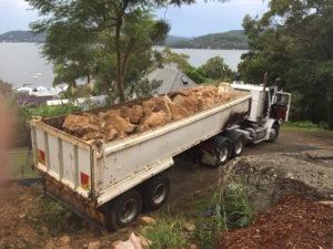 Rock Excavation in truck - Blueprint Built