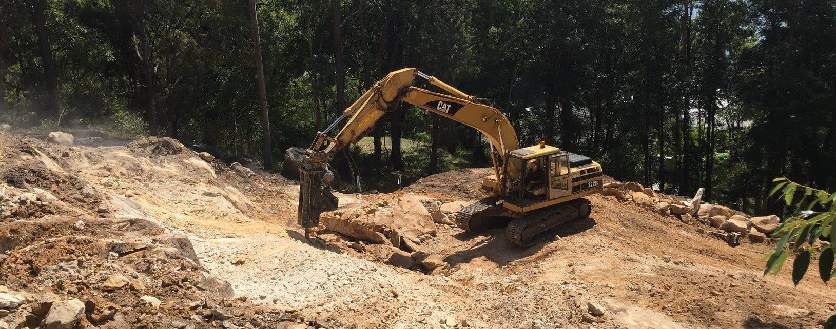 Rock Excavation - Blueprint Built