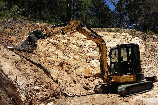 Blueprint Built Excavator Sydney Cat 305.5